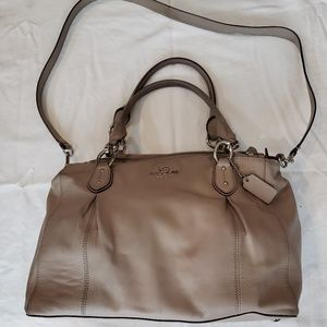 Coach Colette Leather Cross Body Bag